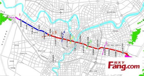 宁波地铁5号线线路图