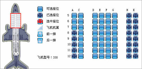 东航舱位等级和具体坐什么座位有关系吗?