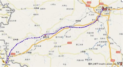 关于南宁至凭祥高速铁路走向的几点看法图片
