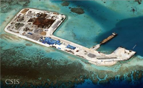 永暑岛有淡水吗 永暑岛填海最新面积 中国舰船在南海疯狂填海造岛