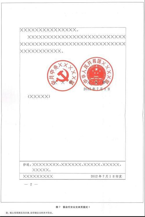 [抄送格式]红头文件写作格式