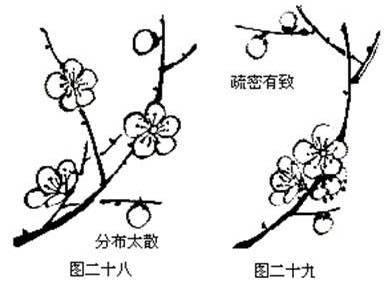中国画梅花的各种画法