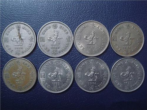 最早的港币——1863年香港一文青铜币(龙头币)