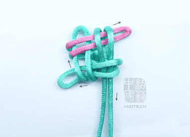 编绳项链编法图解大全【编绳的编法图解】