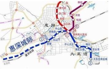 【惠州轻轨3号线线路图】惠州轻轨3号线最新进展