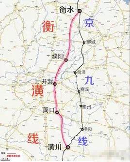 【衡潢铁路十三五规划图集】衡潢铁路线路图最新消息