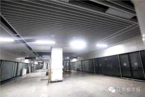 """南昌地铁1号线跑完全程需约52分钟24个站点""""艳照""""曝光!"""