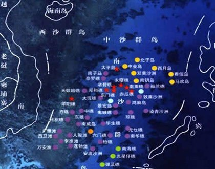 揭秘中国东海油气田分布图 海南岛周边的油气田分布图