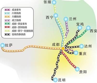 【成兰高铁最新消息通车时间】成兰高铁2017年建成 最新消息及线路图