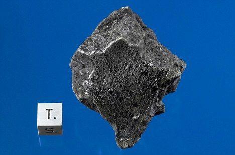 无球粒石陨石图片 陨石坠落新疆 罕见无球粒价值比黄金还珍贵(图)