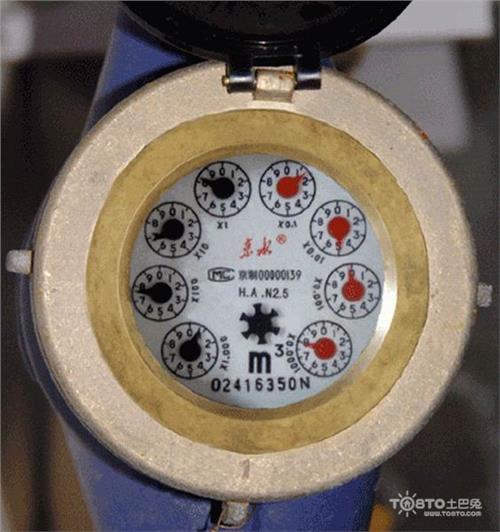 智能水表怎么看图解 家用水表怎么看图解 水表读数怎么正确看
