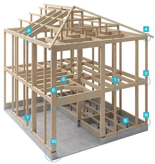 榫卯结构图解如何画图 如何用传统的榫卯结构建一所木屋?全程图文攻略!