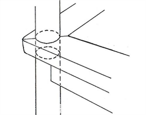 榫卯结构凳子腿 榫卯结构之穿腿榫
