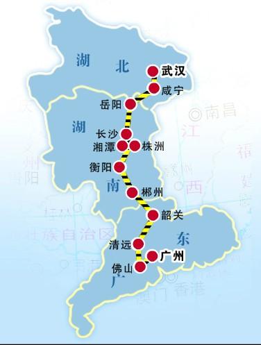 赤喀高铁线路图图片