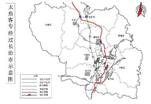 太焦高铁线路图 太焦高铁2016最新消息 太焦高铁详细路线图 图图片