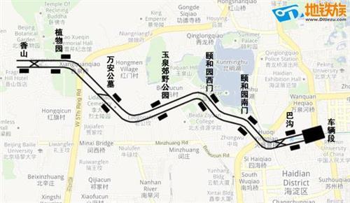 温州地铁线路图 北京地铁S1线什么时候开通 线路图及站点票价 图图片