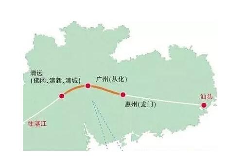 【惠清高速公路线路图】惠清高速公路经过的地点和完工时间