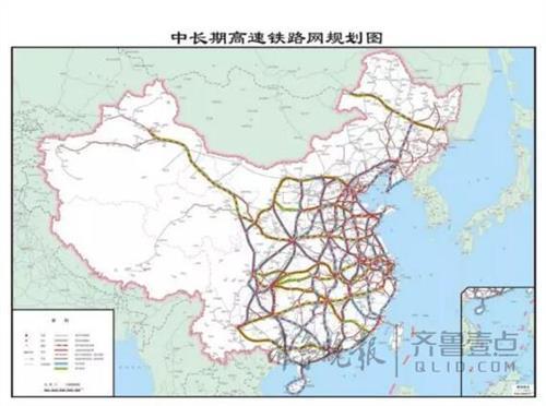 太原地铁规划图 最新铁路规划图解读 八纵八横高铁线路规划图 图解图片