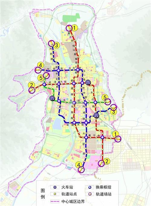 常州地铁线路 常州地铁1号线2号线3号4号5号线路规划图【最新版】