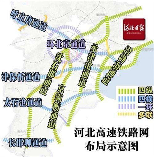 永州铁路最新规划 最新规划图公布!河北要建这么多高铁和地铁