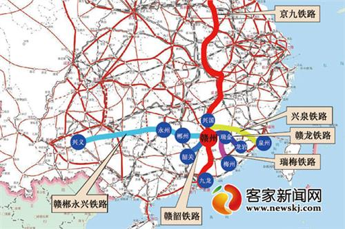 宁都赣州铁路 兴泉铁路兴国至宁化段年内开建 宁都石城将结束无铁路历史