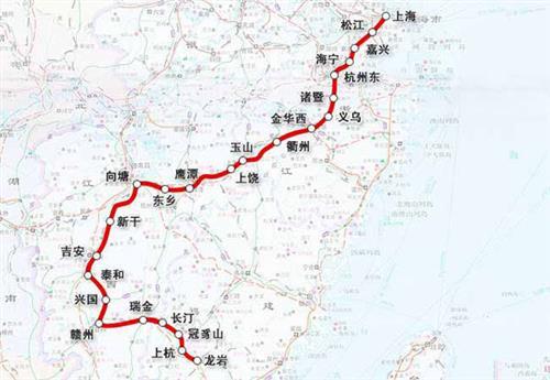 赣州铁路规划 争取赣州至郴州铁路、赣韶铁路复线纳入规划