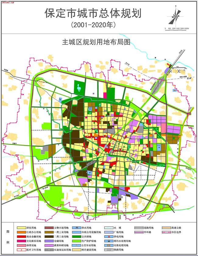 河北定州市市区规划图_保定规划局总体规划图 保定市城市总体规划蓝图出炉 看2020年大 ...