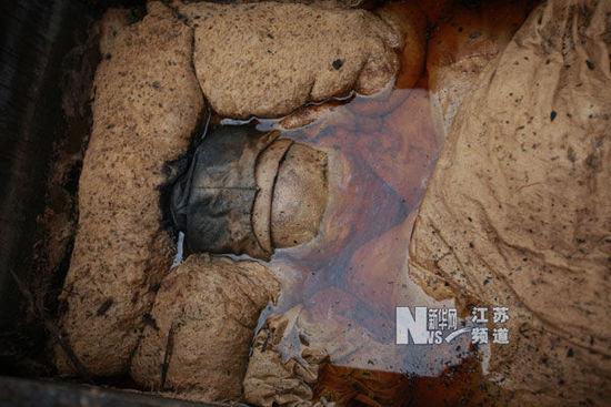 关羽墓出土图片 关羽墓在哪 关羽墓出土后的照片