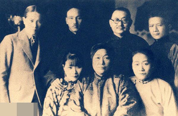 宋氏三姐妹谁的结局好 宋子文的后代家族现状 宋子文的老婆照片图图片