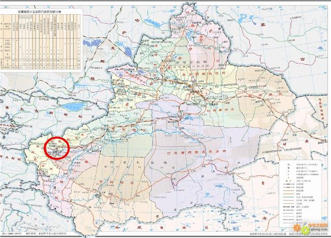 喀什经济特区地图 喀什特区规划蓝图出炉 横跨喀什和克州两地
