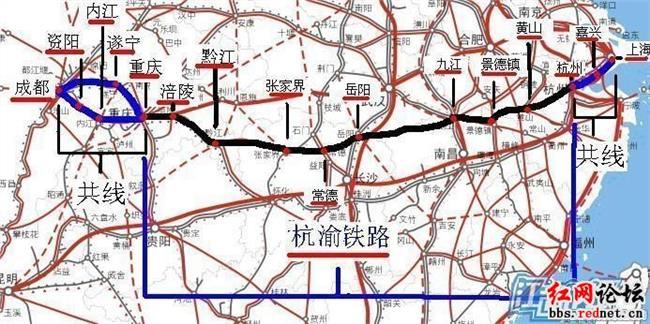郑万高铁南阳段路线图 郑万高铁、蒙华铁路南阳段发现21处文物遗迹