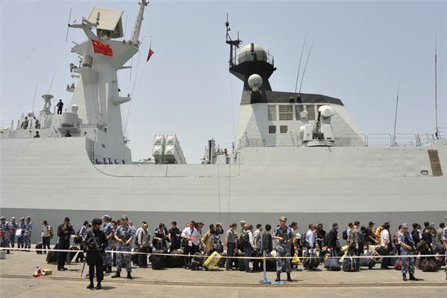 国外网友评论中国撤侨 台湾省网民评论:中国大陆军舰开赴也门撤侨