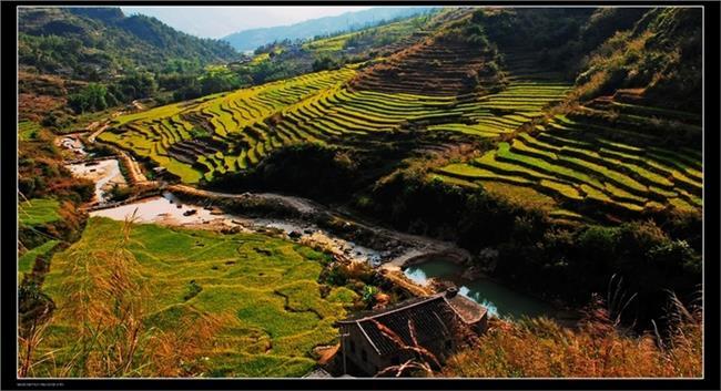 安溪尚卿廖清江 福建安溪最美的公路站在尚卿乡 你见过吗?(图)