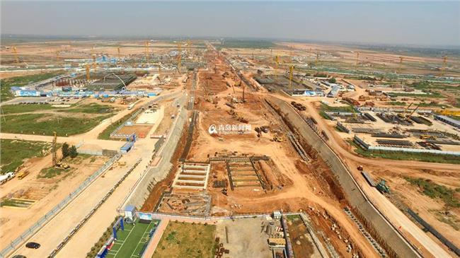 包西高铁2016年开工 青岛新机场2016年将全面开工 高铁地铁都可直达(图)