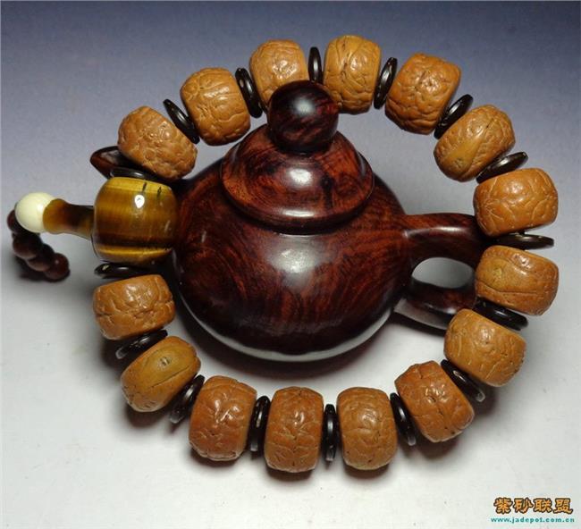 佛珠佛头打结图解步骤 佛珠佛头编绳打结图解 凤眼菩提佛珠手串