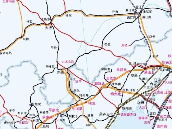 赤凌高铁2015最新 赤峰至喀左高铁又有新消息了!!2015年开建!