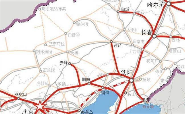 通赤凌高铁最新 赤峰高铁最新消息 从赤峰到北京只需97分钟