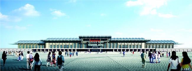 中国未来五大高铁枢纽 京沪高铁五大枢纽站之一济南西客站正加紧建设