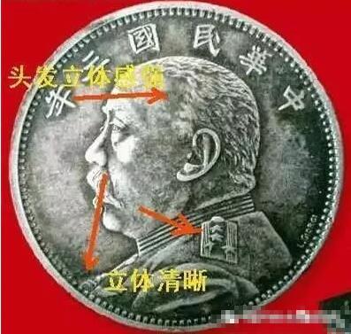 【袁大头三年真品图片】民国三年袁大头签字版真品图片